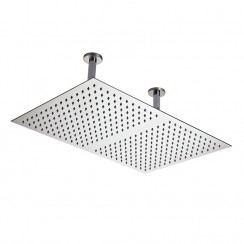 Rectangular Stainless Steel Rectangular Ceiling Shower Head