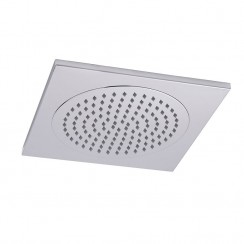 Hudson Reed Square Ceiling Mounted Tile Shower Head 370mm