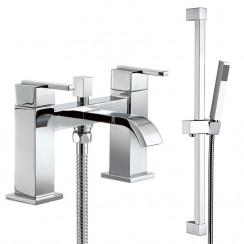 Hendon Bath Shower Mixer Tap & Rail Kit