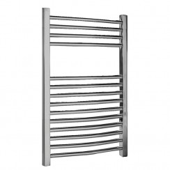 Chrome Curved Ladder Towel Rail