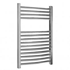 Chrome Curved Ladder Towel Rail