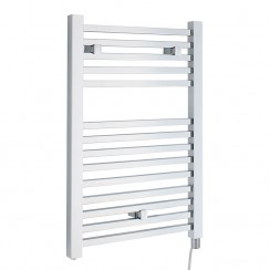 Electric Designer Heated Towel Rail - Chrome - 960 x 500mm