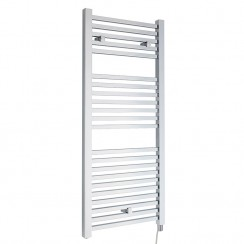 Electric Designer Heated Towel Rail - Chrome - 1100 x 500mm