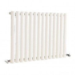 Revive Single Panel Designer Radiator - High White Gloss - 633 x 826mm