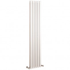 Revive Double Panel Designer Radiator - High White Gloss - 1800 x 354mm
