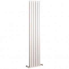 Revive Double Panel Vertical Designer Radiator - High White Gloss - 1800 x 354mm