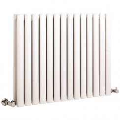 Revive Double Panel Designer Radiator - High White Gloss - 633 x 836mm