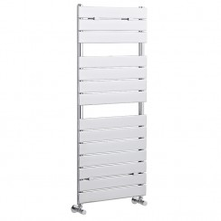 Flat Panel Heated Towel Rail - Chrome - 1213 x 500
