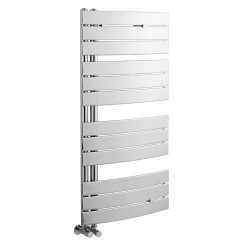 Elgin Designer Heated Towel Rail - Chrome - 1080 x 550mm