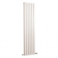 Revive Double Panel Designer Radiator - High White Gloss - 1500 x 354mm