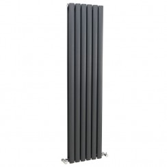 Revive Double Panel Designer Radiator - Anthracite - 1500 x 543mm