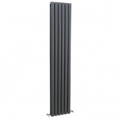 Revive Double Panel Designer Radiator - Anthracite - 1800 x 354mm