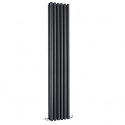 Savy Double Panel Designer Radiator - Anthracite - 1800 x 354mm