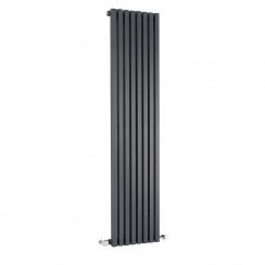 Kinetic Designer Radiator - Anthracite - 1800 x 360mm