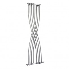 Xcite Designer Radiator - High Gloss Silver - 1775 x 450mm