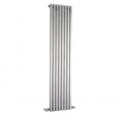 Kinetic Designer Radiator - High Gloss Silver - 1800 x 360mm