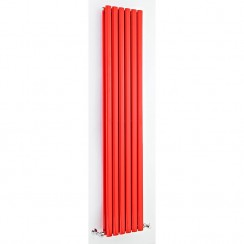 Revive Double Panel Designer Radiator - High Gloss Red - 1800 x 354mm