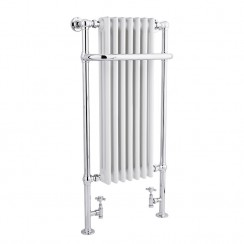 Tall Marquis Traditional Heated Towel Rail - 1130 x 553mm