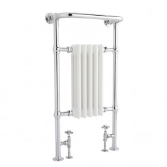 Small Harrow Traditional Heated Towel Rail - 965 x 540mm