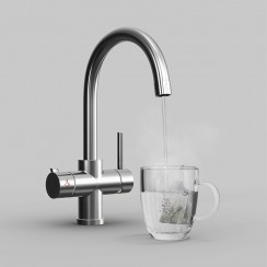 Soho 4 in 1 Instant Hot Water Kitchen Tap & Filter Main
