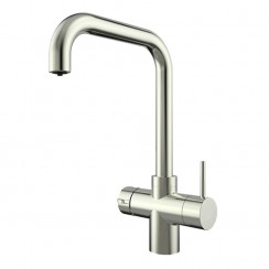 Brushed Steel Lisbon Instant Hot Water Kitchen Tap Only