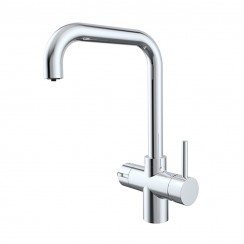 Chrome Lisbon 3 in 1 Instant Hot Water Kitchen Tap