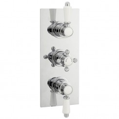 Victorian Triple Thermostatic Concealed Shower Valve