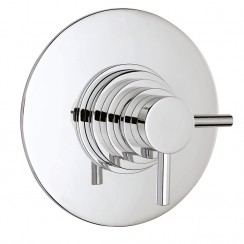 Tec Dual Concealed Thermostatic Shower Valve