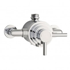Tec Dual Exposed Thermostatic Shower Valve
