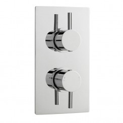 Pioneer Twin Thermostatic Concealed Shower Valve With Diverter