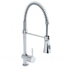 Series Twenty Five Pull Out Hose Kitchen Tap Chrome