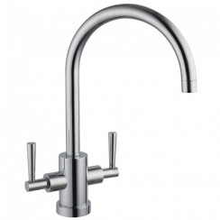 Series Eighteen Kitchen Tap, Brushed Steel