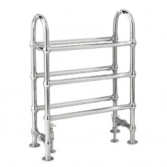 Adelaide Traditional Heated Towel Rail - 780 x 685mm
