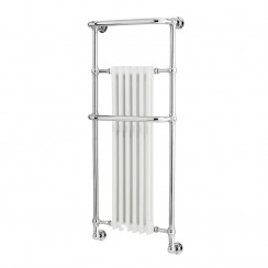 Brampton Traditional Heated Towel Rail - Wall Mounted - 1362 x 575mm