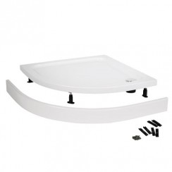 Easy Plumb Shower Tray Leg Set & Plinth (1200 x 900 Curved Plinth)
