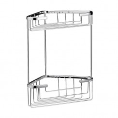 Large 2 Tier Corner Shower Basket