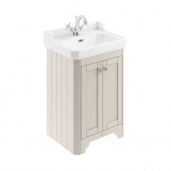 Old London Timeless Sand Traditional 600mm Cloakroom Basin Unit 1TH