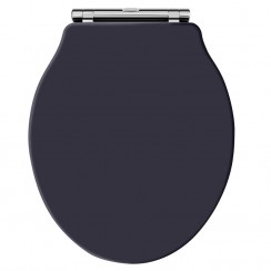 Old London Twilight Blue Traditional Soft Close Toilet Seat