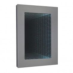 Rectangular Infinity LED Bathroom Mirror