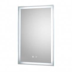 Dazzle 500mm LED Touch Sensor Bathroom Mirror with demister Pad