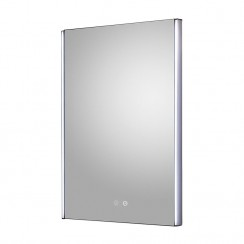 Reverie 500mm LED Touch Sensor Bathroom Mirror with demister Pad