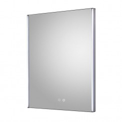 Reverie 600mm LED Touch Sensor Bathroom Mirror with demister Pad
