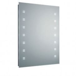 Lucid LED De-Mister Bathroom Mirror