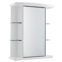 Virtue Single Mirrored Cabinet