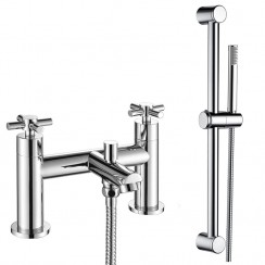 Mayfair Bath Shower Mixer Tap & Rail Kit