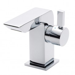 Side Action Mini Mono Basin Mixer Tap