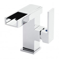 Art LED Side Action Mono Basin Mixer Tap