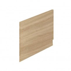 800mm Natural Oak End Bath Panel and Plinth