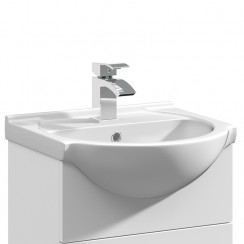 Mayford 450mm Round Semi Recessed Basin