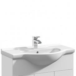 Mayford 750mm Round Semi Recessed Basin